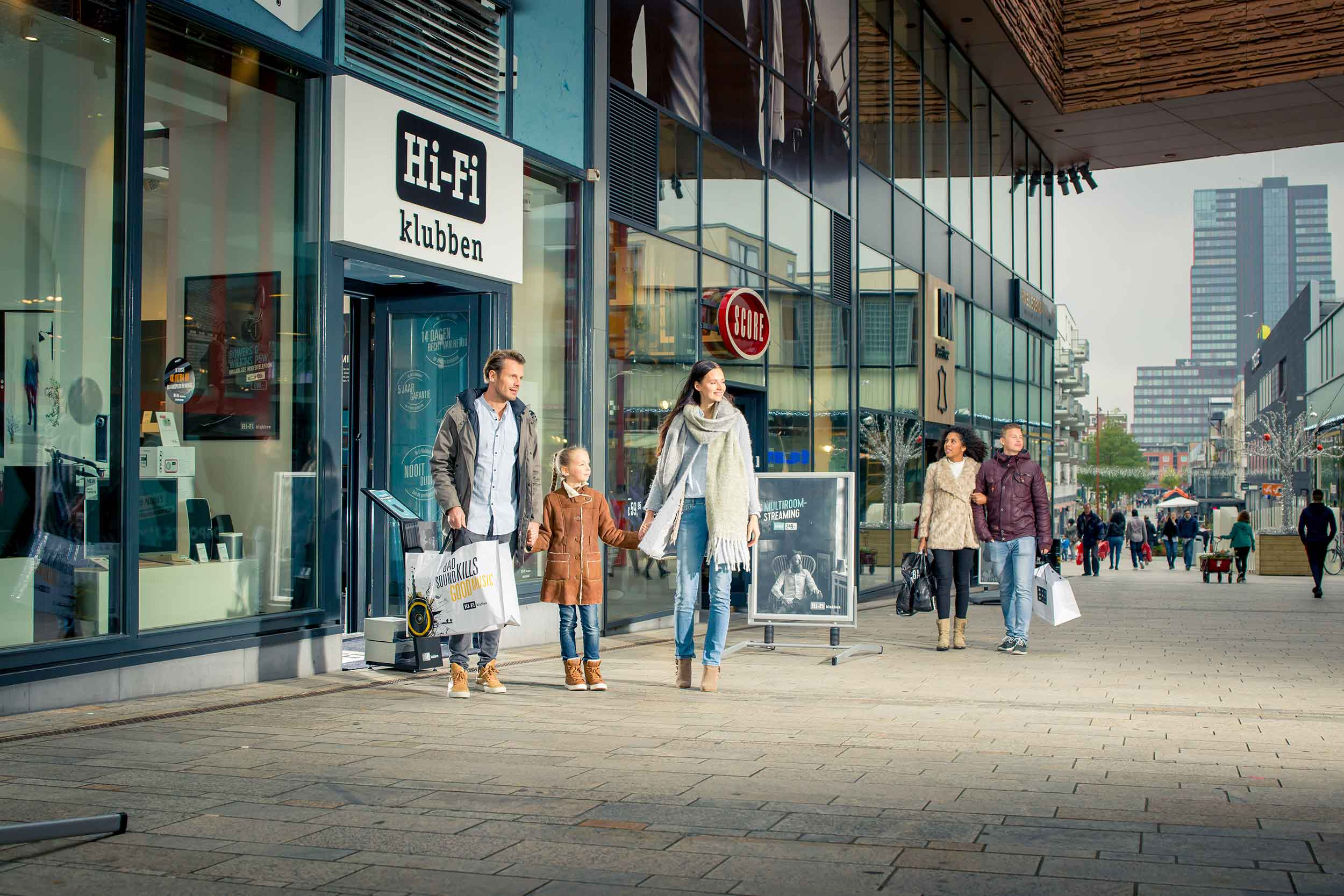 Almere centrum © Urban Solutions (storytelling - campagne)