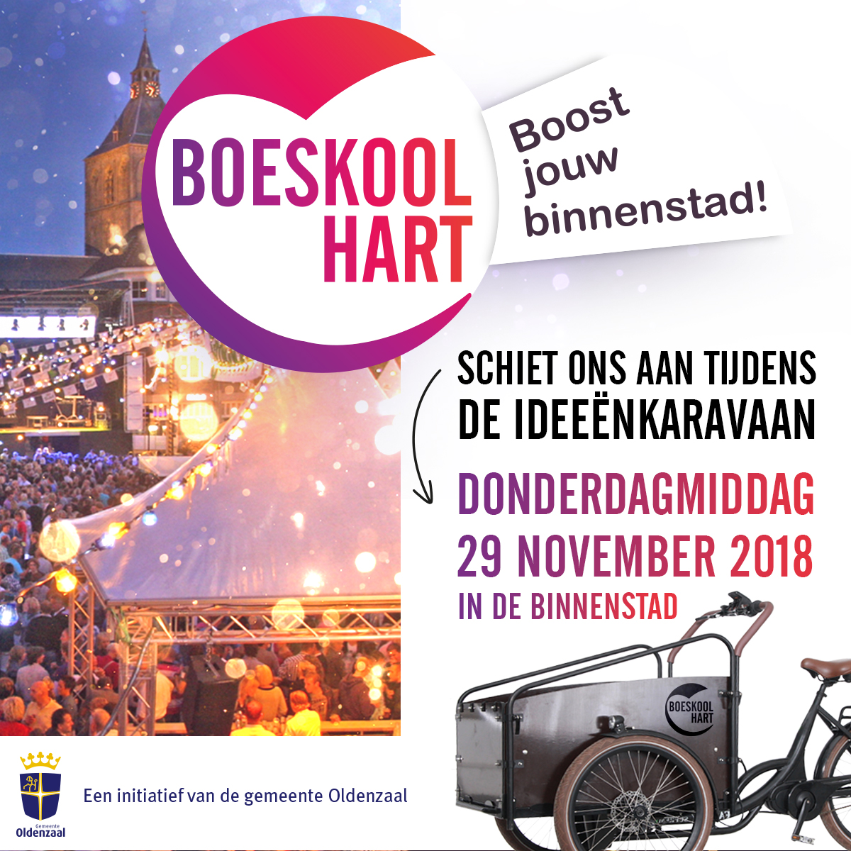Facebookactie gemeente Oldenzaal (placemaking - placebranding)
