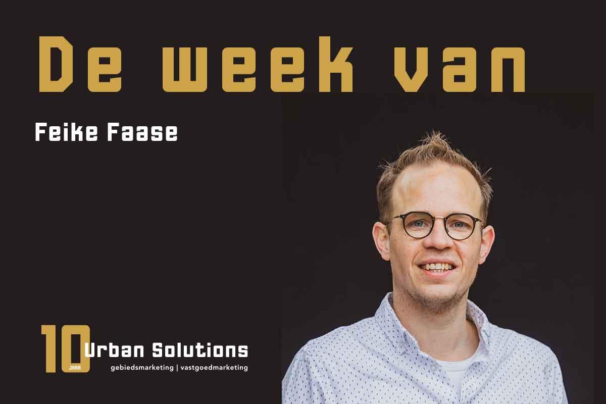 De week van Feike bij Urban Solutions