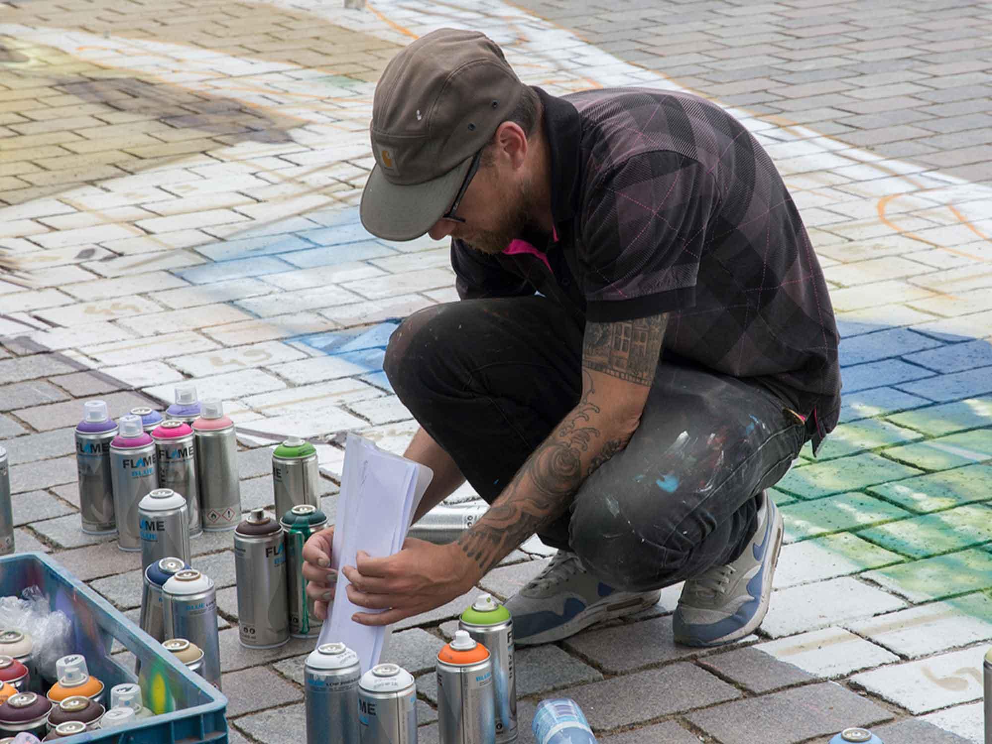 Nunspeet artist© Urban Solutions (placemaking - placebranding)