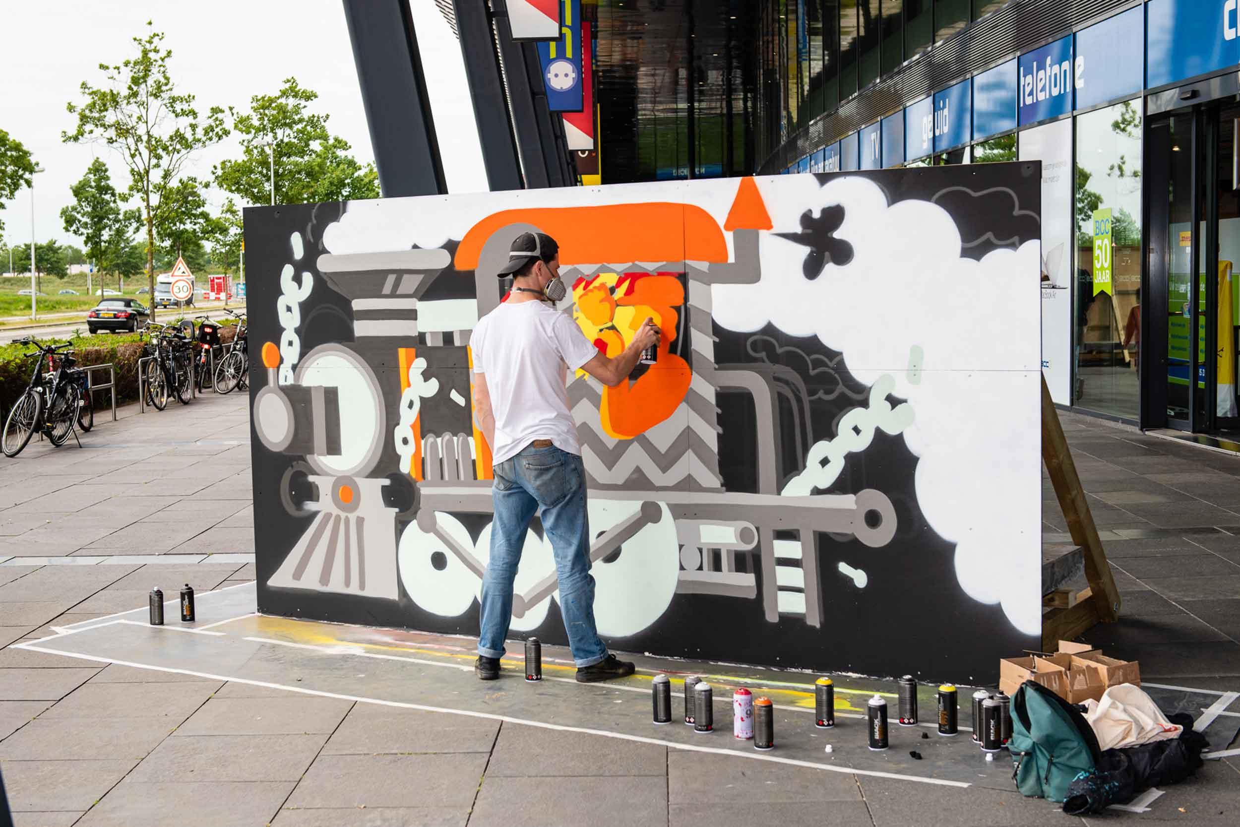 Streetart The Wall Utrecht © Urban Solutions (placemaking - placebranding)