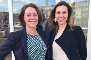 Nieuwe werknemers van Urban Solutions Margriet en Mirja