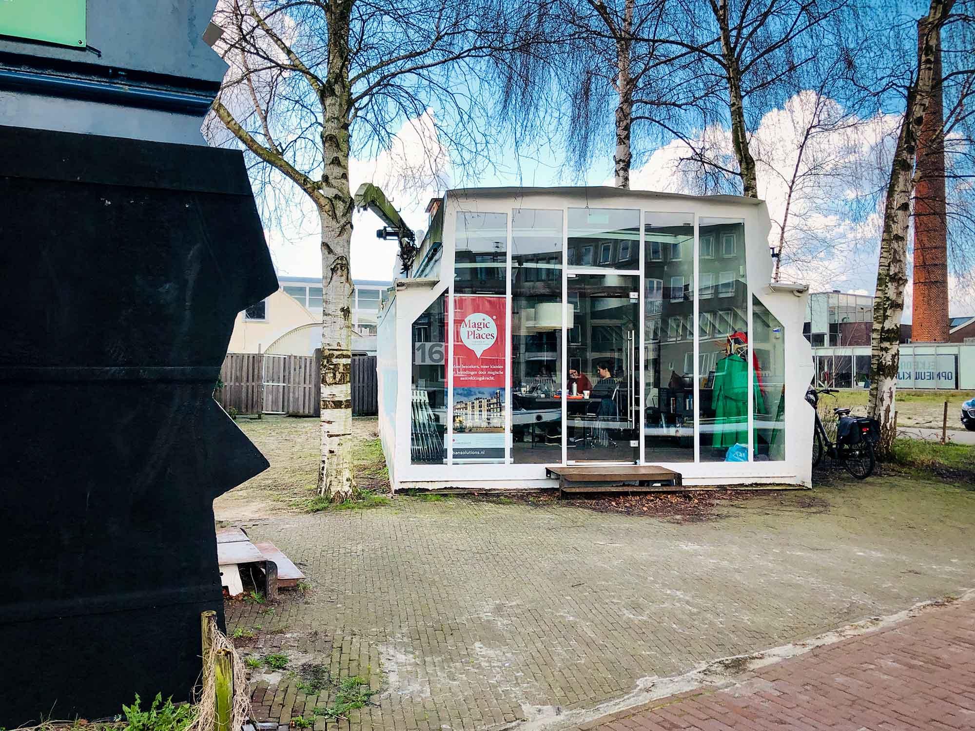Het creatieve kantoor van Urban Solution